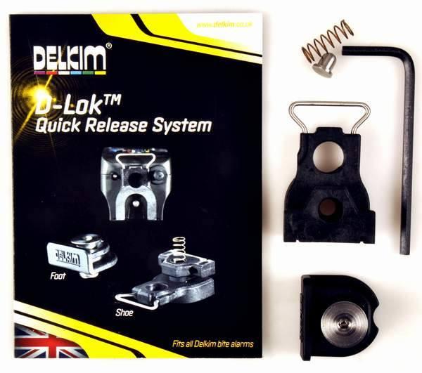 Delkim D-Lok™ Quick Release System