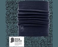 Buff Heavy Merino Wool Neckwarmer Denim