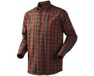 Seeland Pilton Skjorte Spicy Red Check