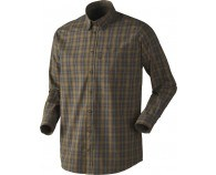 Seeland Kensington B/U Skjorte Duffel Green Check