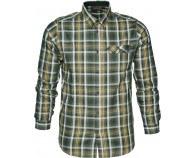Seeland Gibson Skjorte Forest Green Check