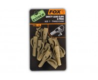 Fox Edges Safety Lead Clips & Pegs Size 7
