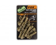 Fox Edges Slik Lead Clips & Pegs Size 10
