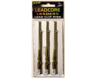 ESP Leadcore Leaders Lead Clip Rigs