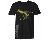 Fladen Hungry Pike T-Shirt Sort