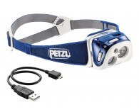 Petzl Reactik Sort 220 Lumen