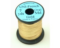 Uni-French Oval Tinsel Guld