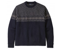 Patagonia Recycled Wool Sweater Farm Blend: New Navy