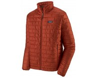 Patagonia M's Nano Puff Jkt Roots Red