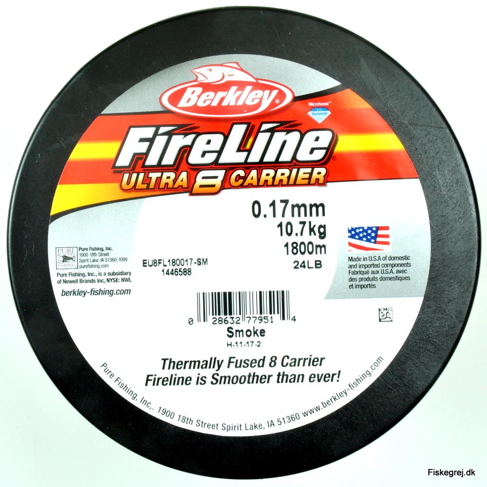 Image of   Berkley Fireline Ultra 8 Sort 1800m
