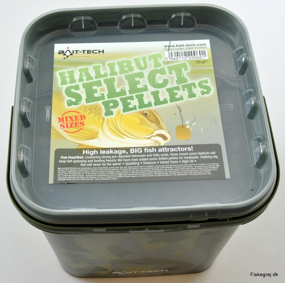 Billede af Bait-Tech Halibut Select Pellets 3kg