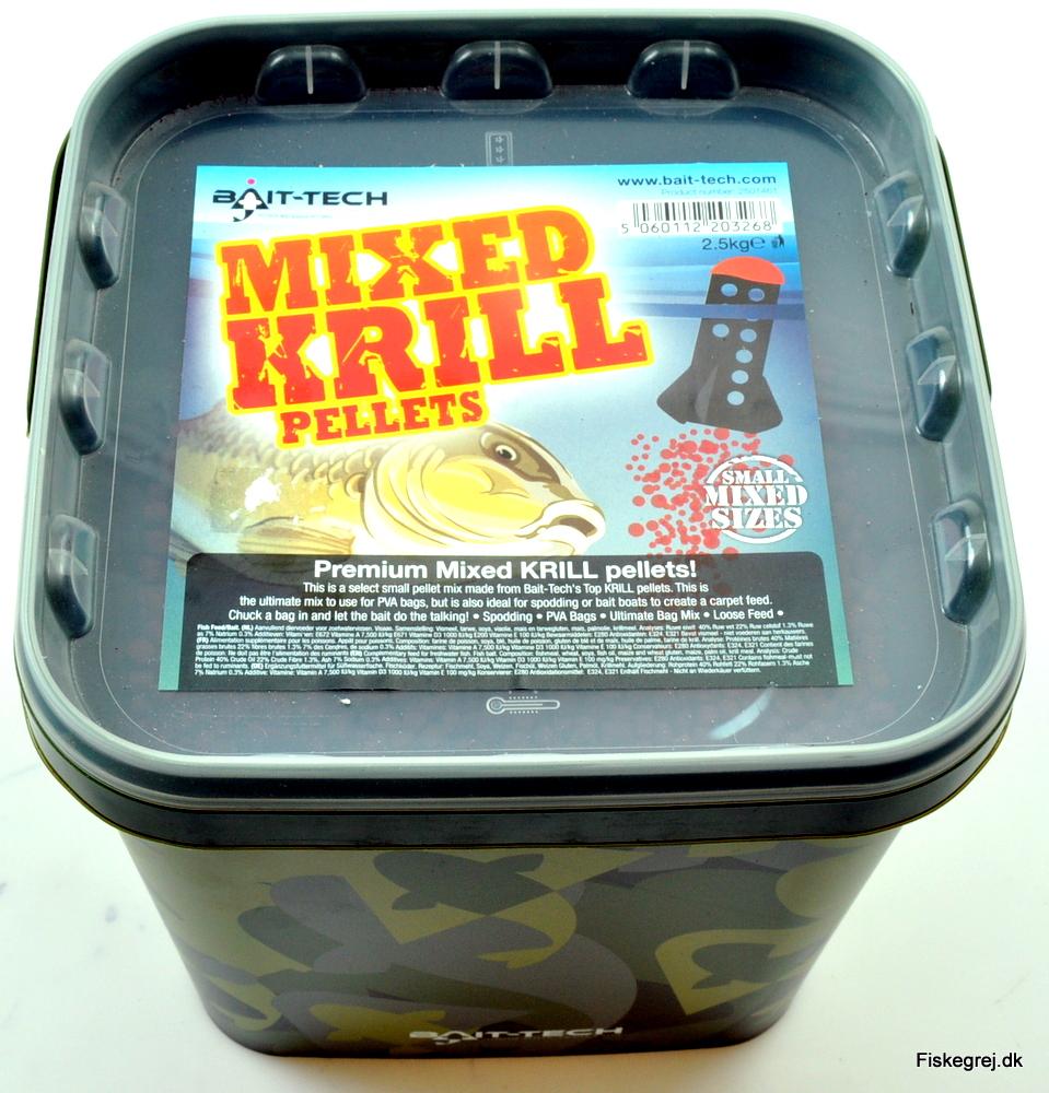 Billede af Bait-Tech Mixed Krill Pellets 2,5kg