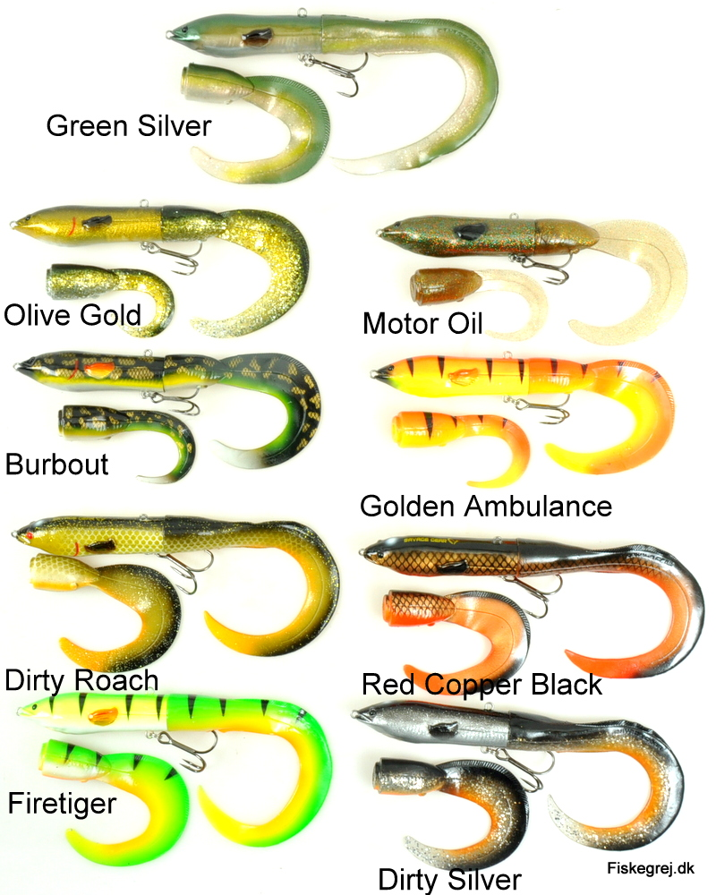 Image of   Savage Gear 3D Hard Eel Tail Bait