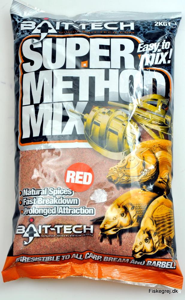 Billede af Bait-Tech Super Method Mix Red 2kg