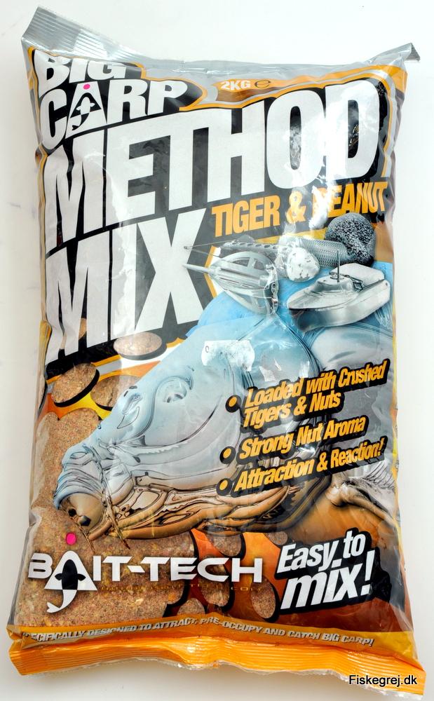 Bait-Tech Tiger and Peanut Method Mix 2 kg