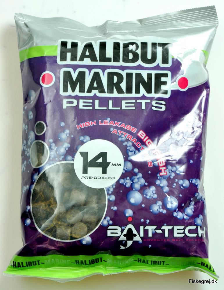 Billede af Bait-Tech Halibut Marine Pellets 900gr