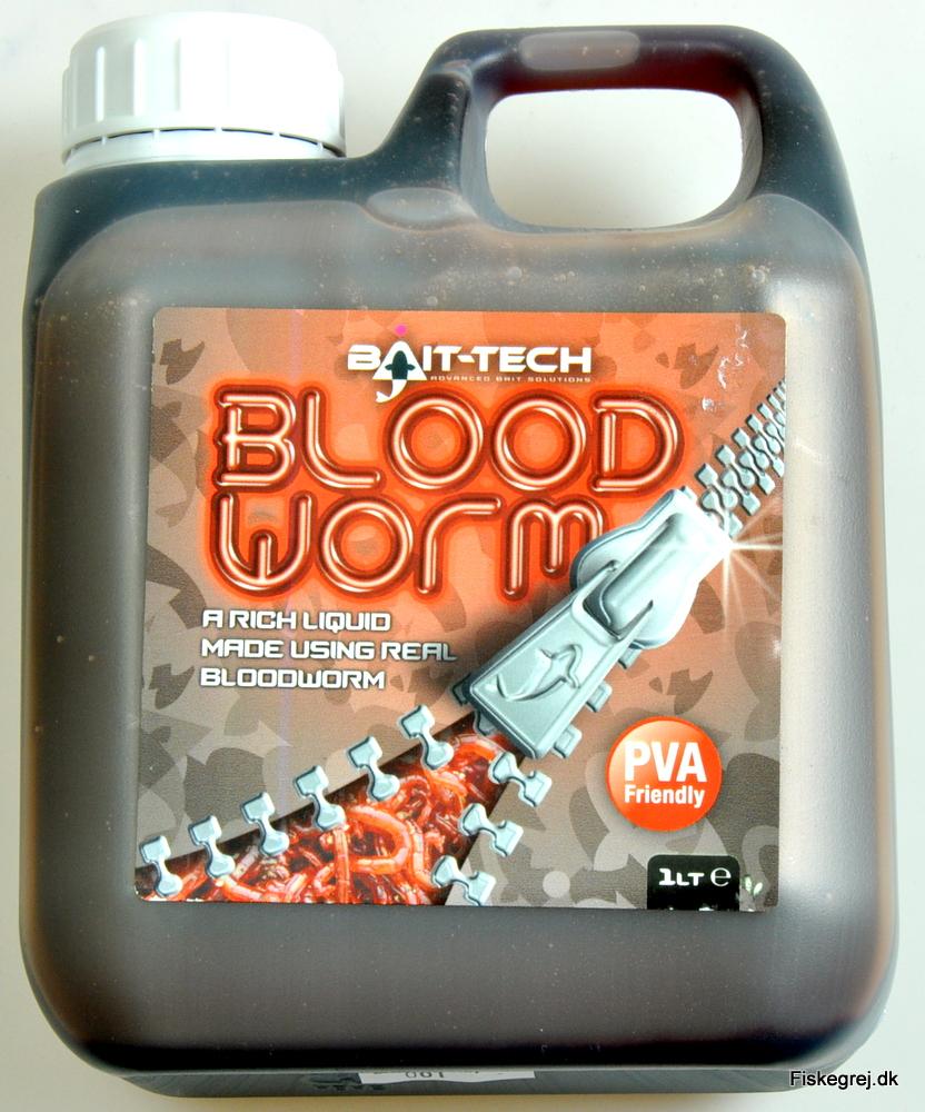N/A – Bait-tech bloodworm liquid 1l på fiskegrej.dk