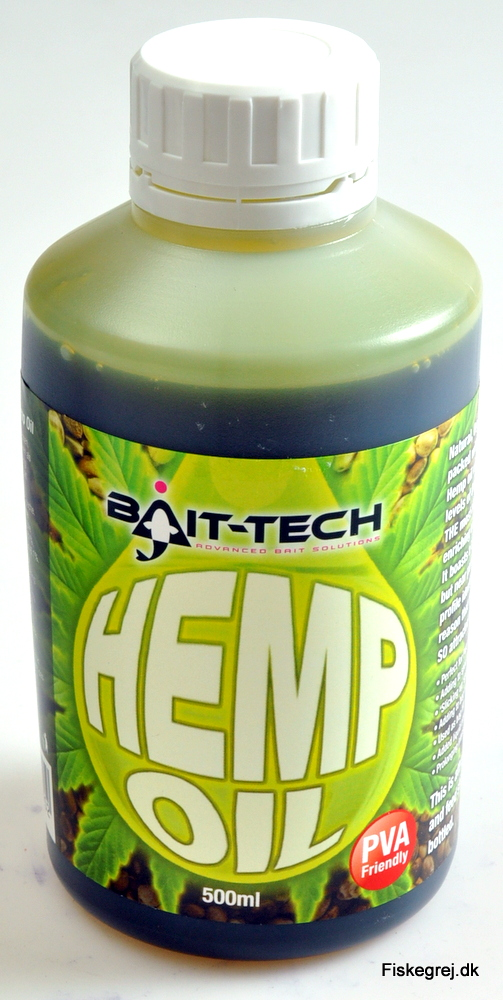 N/A – Bait-tech hemp oil 500ml fra fiskegrej.dk