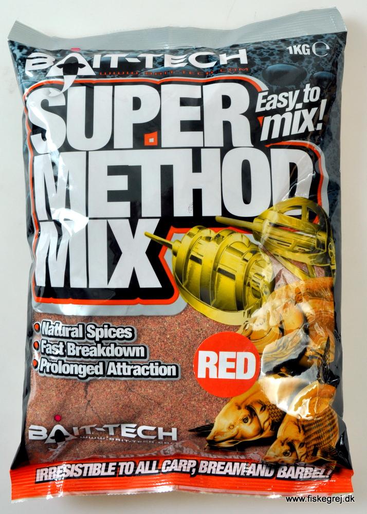 Billede af Bait-Tech Super Method Mix Red 1kg