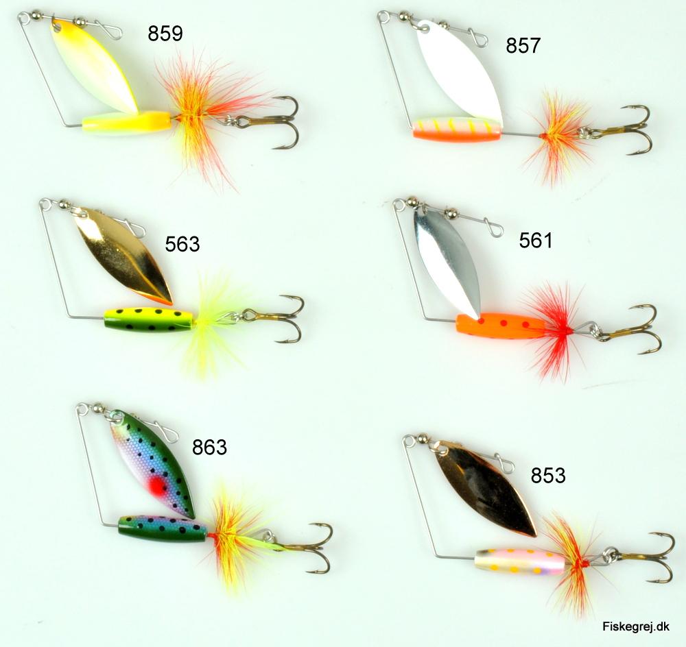 Billede af Strike Pro Attract Spinner Tail