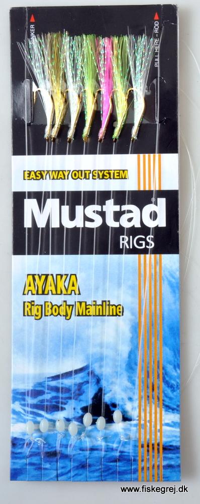 Image of   Mustad Ayaka Nippon Urethane Rig