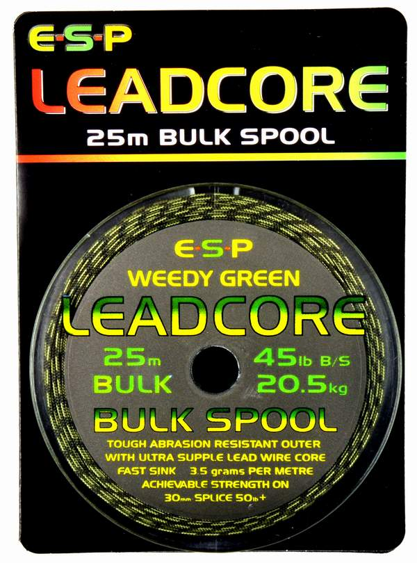 Image of   ESP Leadcore 25m Bulk spole