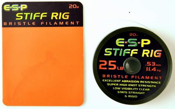 Billede af ESP Stiff Rig Bristle Filament