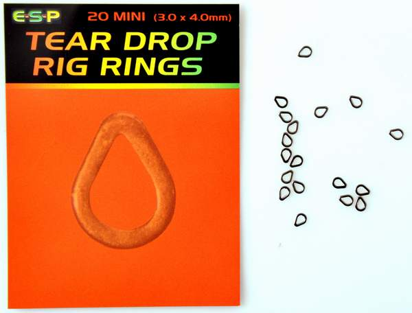Image of   ESP Tear Drop Rig Rings
