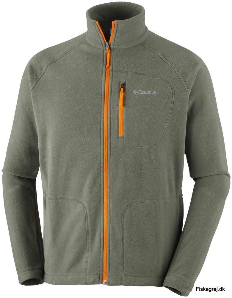 Image of   Columbia Fast Trek II Full Zip Fleece Lysbrun