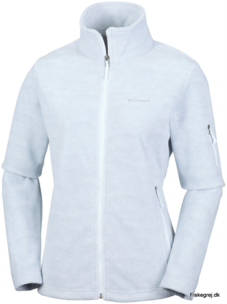 Image of   Columbia Fast Trek Print Fleece Lys