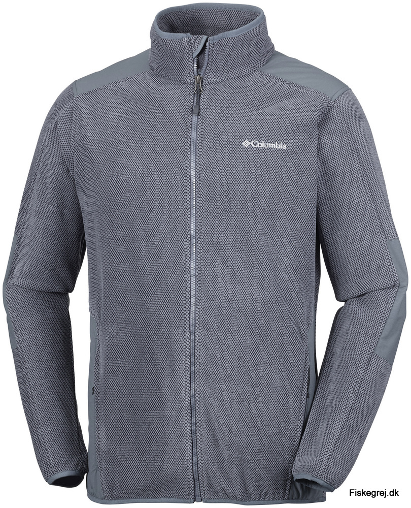 Columbia Tough Hiker Full Zip Fleece Grå