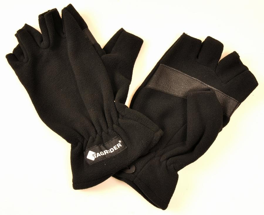 N/A Tagrider fleece handske. fra fiskegrej.dk