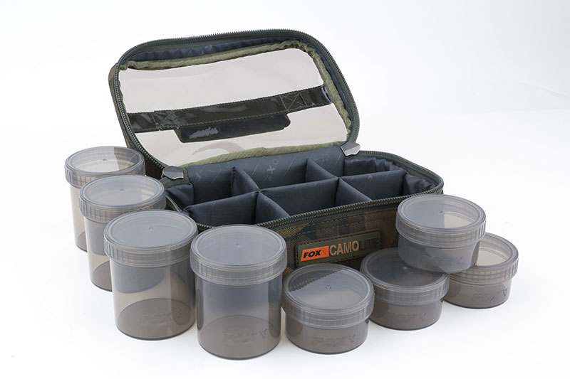 Fox Camo Lite Glug 8 Pot Case