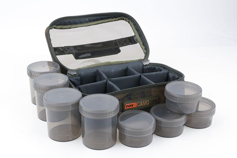Fox Camo Lite Glug 8 Pot Case