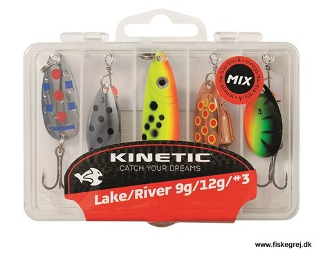 Image of   Kinetic Lure Mix Lake River