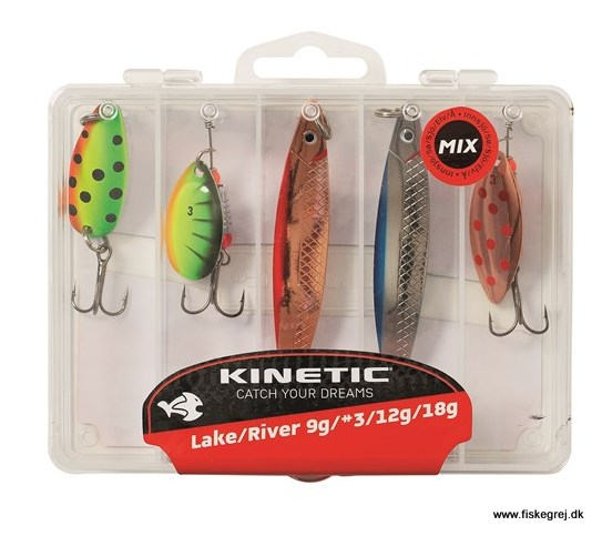 Image of   Kinetic Lure Mix Lake/River