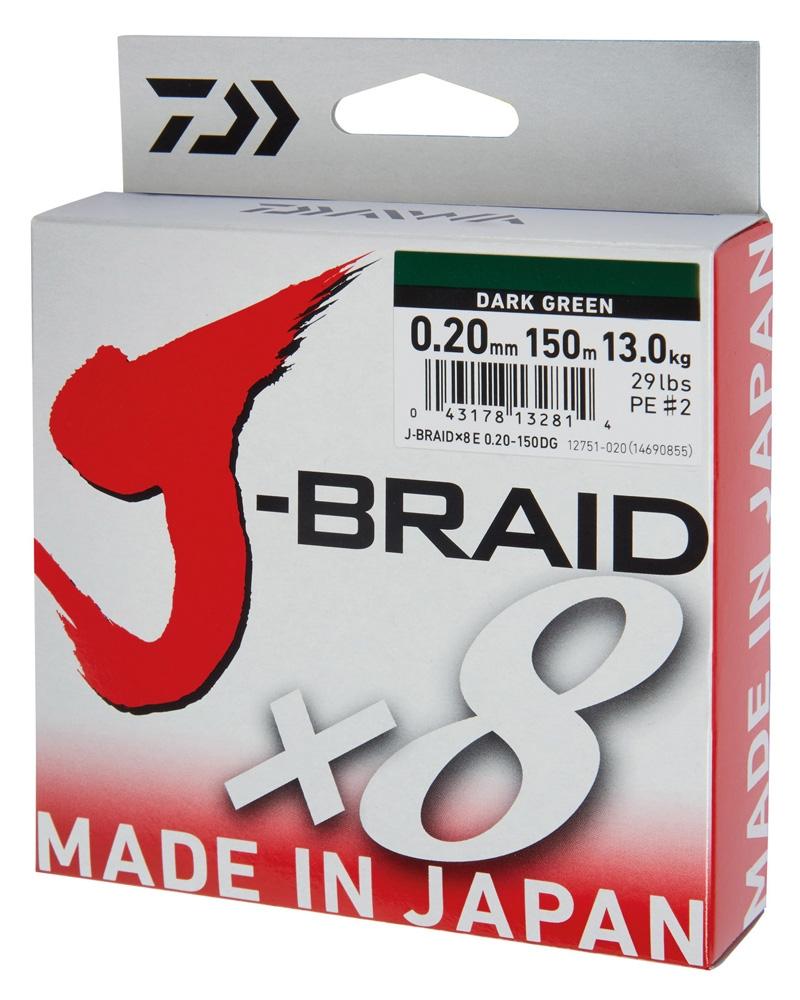 Daiwa J-Braid X8 150m