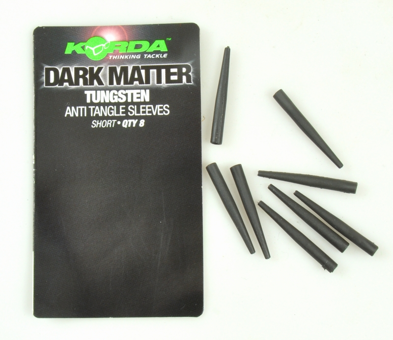 Image of   Korda Dark Matter Tungsten Anti Tangle Sleeves