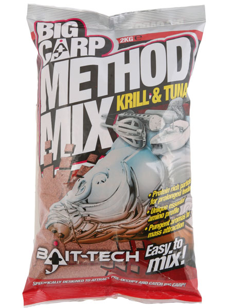 Image of   Bait-Tech Krill & Tuna Method Mix