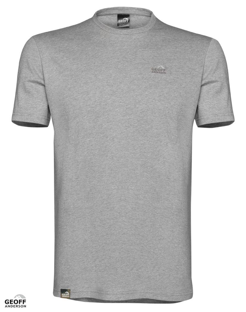 Geoff Anderson T-Shirt Logo Grå