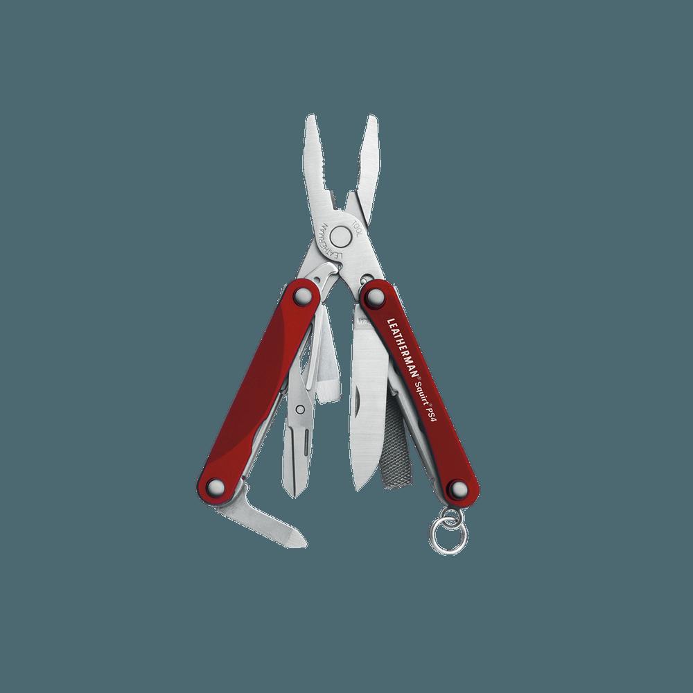 Billede af Leatherman Squirt PS4 Rød