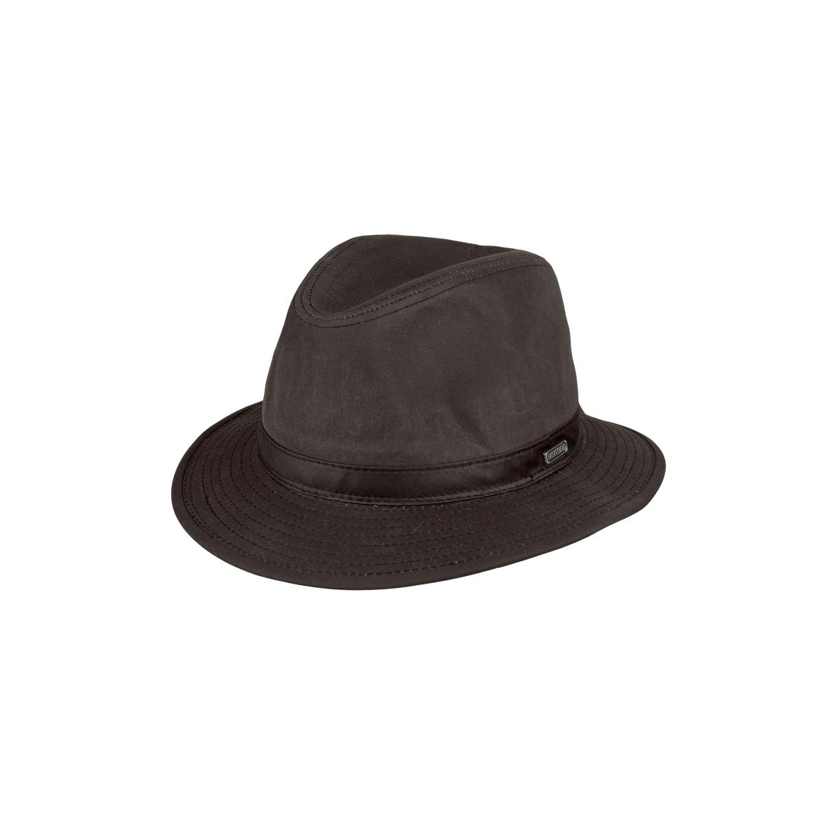 Image of   MJM Zach EL Oilskin Hat Brun