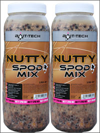 Bait-Tech Nutty Spod Mix Jar 2,5L