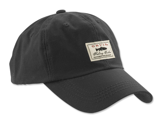 Image of   Orvis Vintage Waxed Cotton Cap Navy