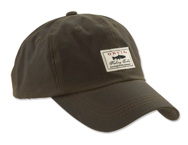 Image of   Orvis Vintage Waxed Cotton Cap Olive