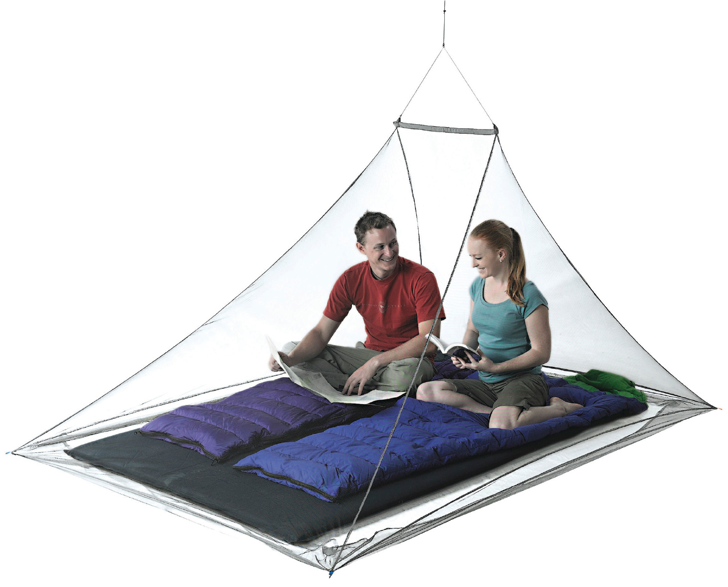 Seatosummit Nano Mosquito Pyramid Net Double