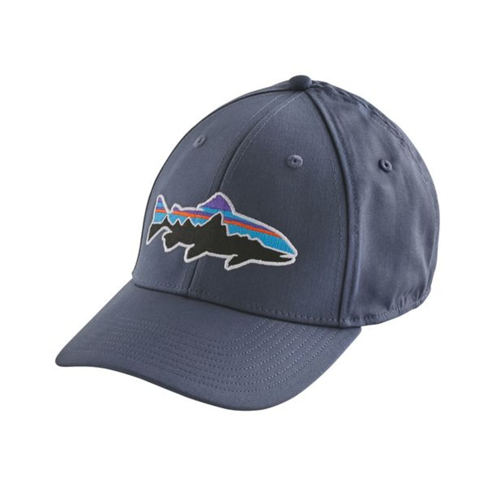 Image of   Patagonia Fitz Roy Trout Stretch Fit Cap Blå