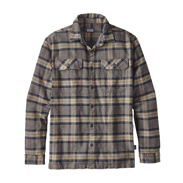 Billede af Patagonia Fjord Flannel Skjorte Forge Grey