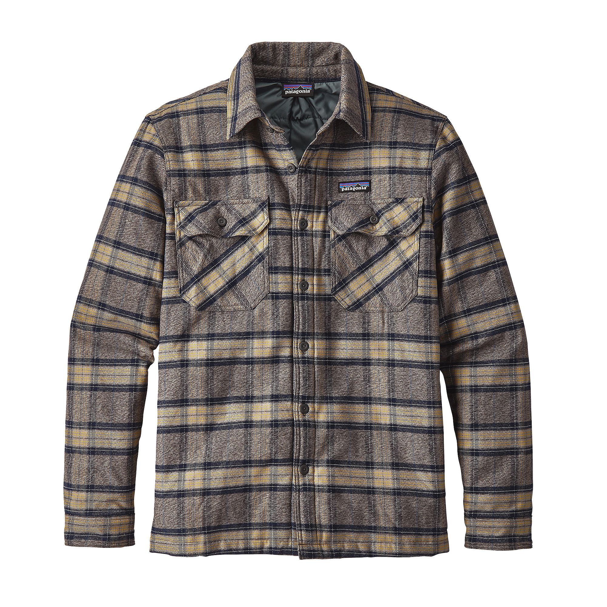 Patagonia Insulated Fjord Flannel Skjorte
