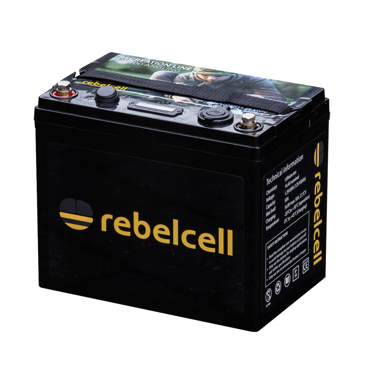 Rebelcell Ultimate 12V100 Inkl. Lader